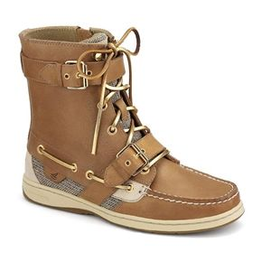 Sperry Top Sider Womens Huntley Sahara Boots   9289398