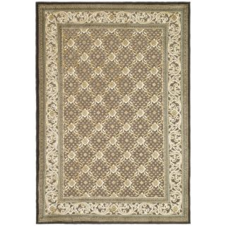 Safavieh Paradise Ivory/Dark Brown Rug PAR04 303