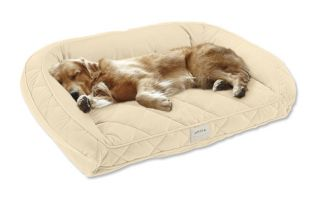 Deep Dish Dog Bed With Memory Foam / Xlarge Dogs 120+ Lbs, Multiple Dogs., Beige,