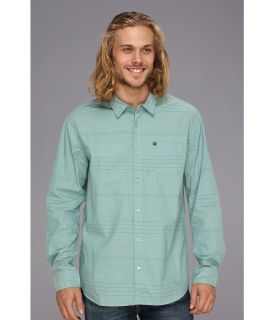 Rip Curl Line Work L/S Shirt Mens Long Sleeve Button Up (Blue)