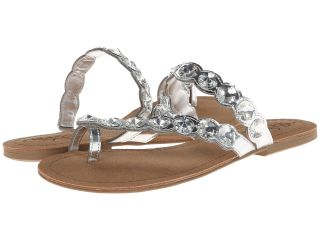 Kenneth Cole Unlisted Coin Charm Womens Sandals (Silver)