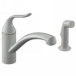 Kohler K 15076 P 0 Coralais Single Handle Kitchen Faucet with Sidespray