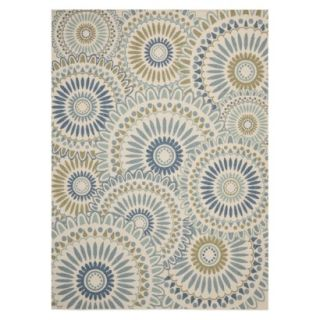 Safavieh Aegina Indoor/Outdoor Area Rug   Cream/Green (8x112)