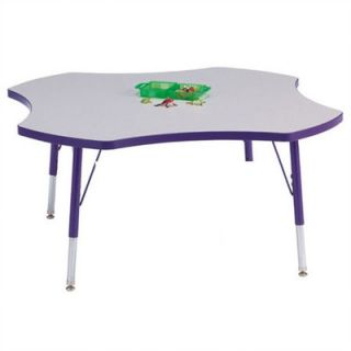 Jonti Craft Rainbow Accents KYDZ Toddler Height Activity Table  Four Leaf (48