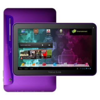 Visual Land Prestige 10 Android Tablet (ME 110 16GB PRP) with 16GB Internal
