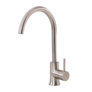 Elite K12sn Satin Nickel Single handle Kitchen Faucet