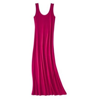 Merona Petites Sleeveless Maxi Dress   Red MP