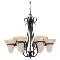 Sea Gull Lighting SEA 3211 185 Saranac Lake Six Light Saranac Lake Chandelier