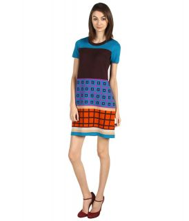Kate Spade New York Blocked Freyda Dress Womens Dress (Multi)