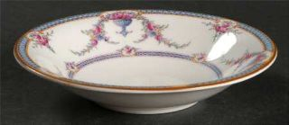 Royal Worcester Rosemary Sky Blue/White Fruit/Dessert (Sauce) Bowl, Fine China D