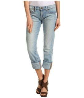 Lucky Brand Sienna Tomboy Crop in La Jolla Womens Jeans (Blue)