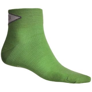 SmartWool PhD Ultralight Mini Running Socks   Merino Wool (For Men and Women)   LIME (S )