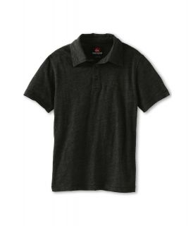 Quiksilver Kids Grab Bag 3 S/S Polo Boys Short Sleeve Pullover (Black)
