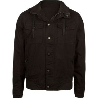 Endless Mens Hooded Jacket Black In Sizes Medium, X Large, Xx Large, Small