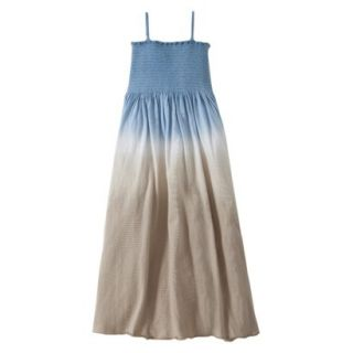 Burts Bees Baby Toddler Girls Dip Dye Beach Dress   Dusk Blue 4T