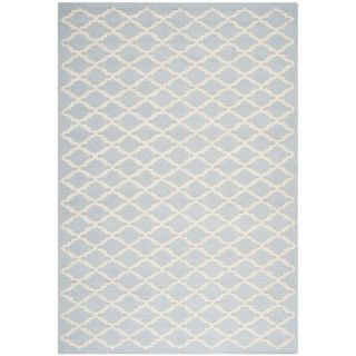 Safavieh Cambridge Light Blue / Ivory Rug CAM137A Rug Size 5 x 8