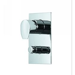 Whitehaus G9935 PC Gyro Wall Mount Shower Valve with a Diverter