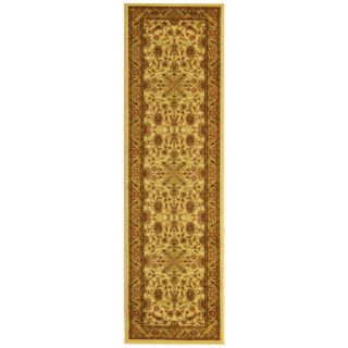 Lyndhurst Collection Ohsak Ivory/ Tan Rug (23 X 6)