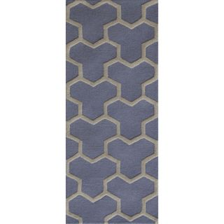 Safavieh Cambridge Light Blue / Ivory Rug CAM146A Rug Size Runner 26 x 6