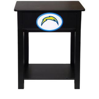 Fan Creations NFL End Table N0533  NFL Team San Diego Chargers