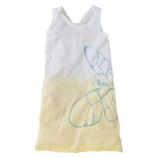 Burts Bees Baby Toddler Girls Racer Back Dress   Daffodil 2T