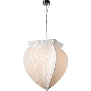 PLC Lighting PLC 73034 WHITE Bombay 1 Light Pendant Bombay Collection