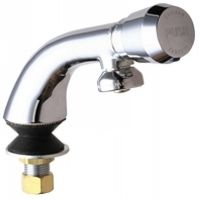 Chicago Faucets 807 665PSHABCP Universal Single Hole Metering Faucet