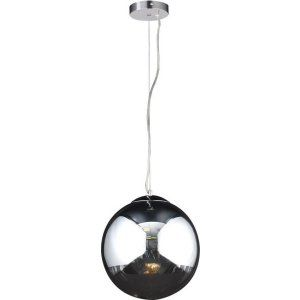 PLC Lighting PLC 14853 PC Mercury 1 Light Pendant Mercury Collection