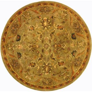 Safavieh Antiquities Majesty Sage/Gold Rug AT52A Rug Size Round 4