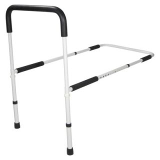 Drive Medical White and Black Home Bed Assist Handle   19. 75 x 13. 5 x 32.