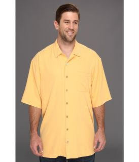 Tommy Bahama Big & Tall Big Tall Catalina Twill Camp Shirt Mens Short Sleeve Button Up (Orange)