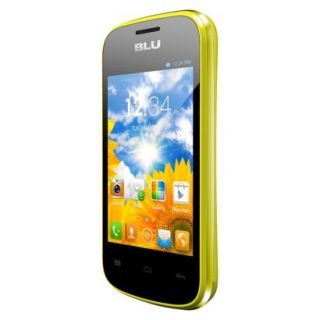 BLU Dash Junior D140 Unlocked GSM Dual SIM Android Cell Phone   Yellow