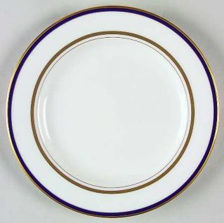 Lenox China Library Lane Navy Bread & Butter Plate, Fine China Dinnerware   Kate