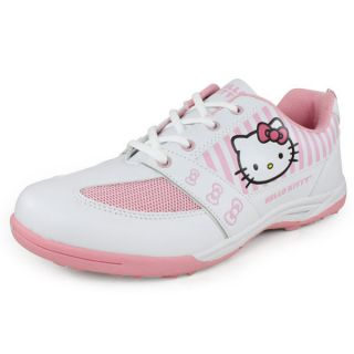 Hello Kitty Girl`s Shoes White and Pink 3 White