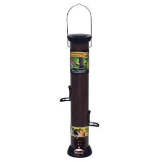 BFG Supply Co Droll Yankee 18 in. Onyx Nyjer Tube Feeder with Removable Base