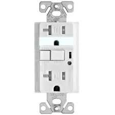 Cooper 9510TRWS Electrical Outlet, Aspire Duplex Receptacle 20A, Commercial Grade White Satin