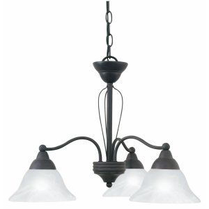 Thomas Lighting THO SL801711 Cortland Chandelier Bronze Florentine 3x