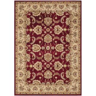Safavieh Majesty Red / Camel Traditional Rug MAJ4913 4015 5