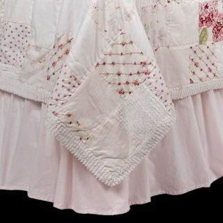 Simply Shabby Chic Pink Bedskirt   Queen
