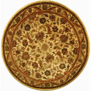 Safavieh Antiquities Majesty Gold Rug AT52D Rug Size Round 6