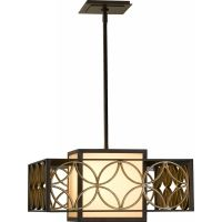Feiss F2467 2HTBZ PGD Remy 2   Light Shade Pendant
