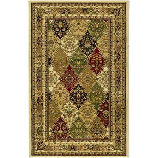 Lyndhurst Collection Multicolor/ Ivory Rug (33 X 53)
