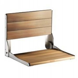Moen DN7110 Universal Teak folding shower seat