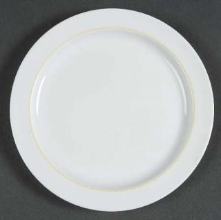 Rosenthal   Continental Springtime White, Yellow Inner Ring Bread & Butter Plate