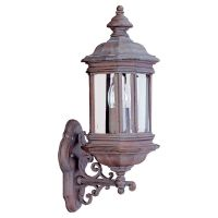 Sea Gull Lighting SEA 8838 08 Hill Gate Two Light Hill Gate Outdoor Wall Lantern
