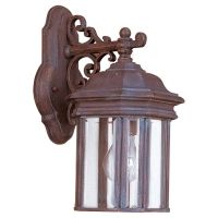 Sea Gull Lighting SEA 8835 08 Hill Gate Single Light Hill Gate Outdoor Wall Lant