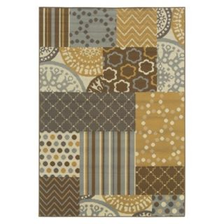 Maggie Patchwork Indoor/Outdoor Area Rug (67x96)