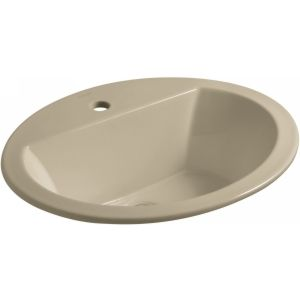 Kohler K 2699 1 33 Bryant Bryant® Oval Drop In Bathroom Sink with Single Faucet