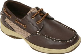 Boys Deer Stags Jay   Dark Brown Casual Shoes
