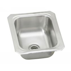 Elkay BCFR1315 Universal ADA Compliant Top Mount Single Bowl Prep Sink